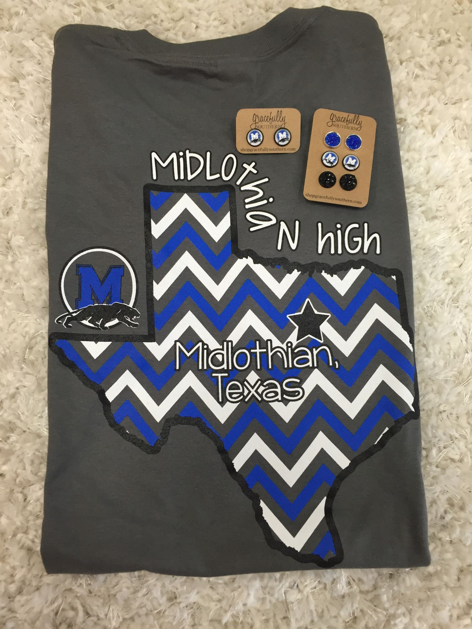 Midlothian high school tshirts school spirit shirts