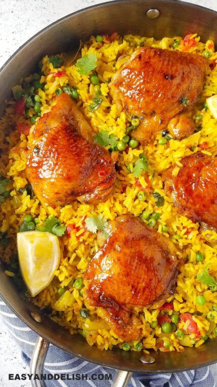 Photo of Galinhada (Brazilian Saffron Rice with Chicken)