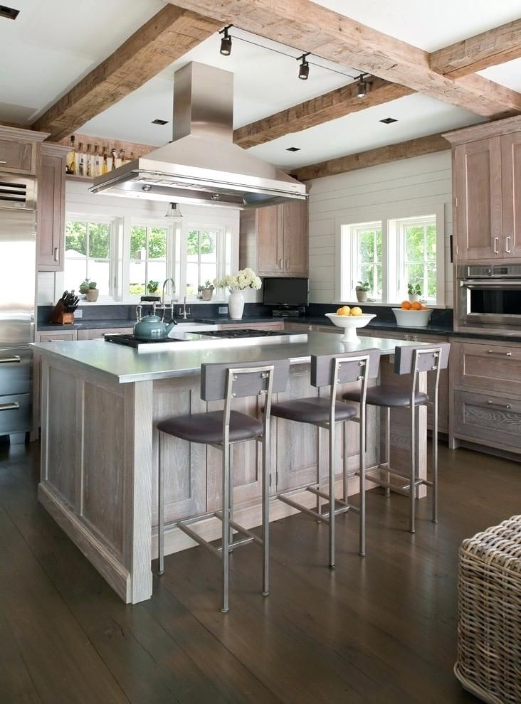 white washed oak kitchen cabinets white washed oak kitchen ...