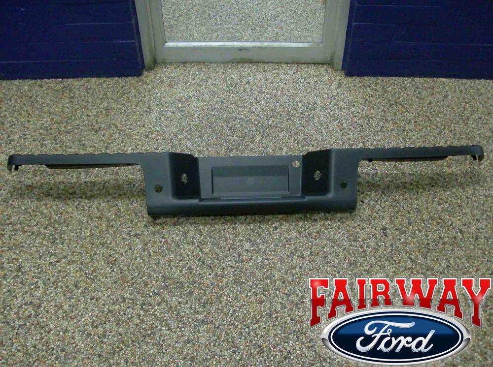09 Thru 14 Ford F 150 Oem Genuine Ford Rear Bumper Top Step Pad Cover W Prox Oemgenuinefordparts Ford F150 Pad Cover Oem
