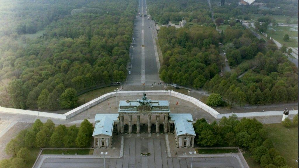 Einzigartige Luftausnahmen Aus Stasi Geheimarchiven Berliner Mauer Brandenburger Tor Bilder