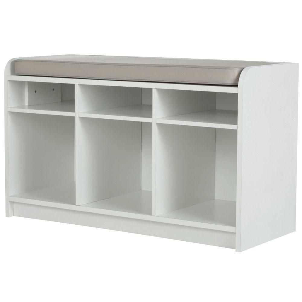 Cool White 3 Cubby Storage Bench In 2019 Our Biggest Adventure Ocoug Best Dining Table And Chair Ideas Images Ocougorg