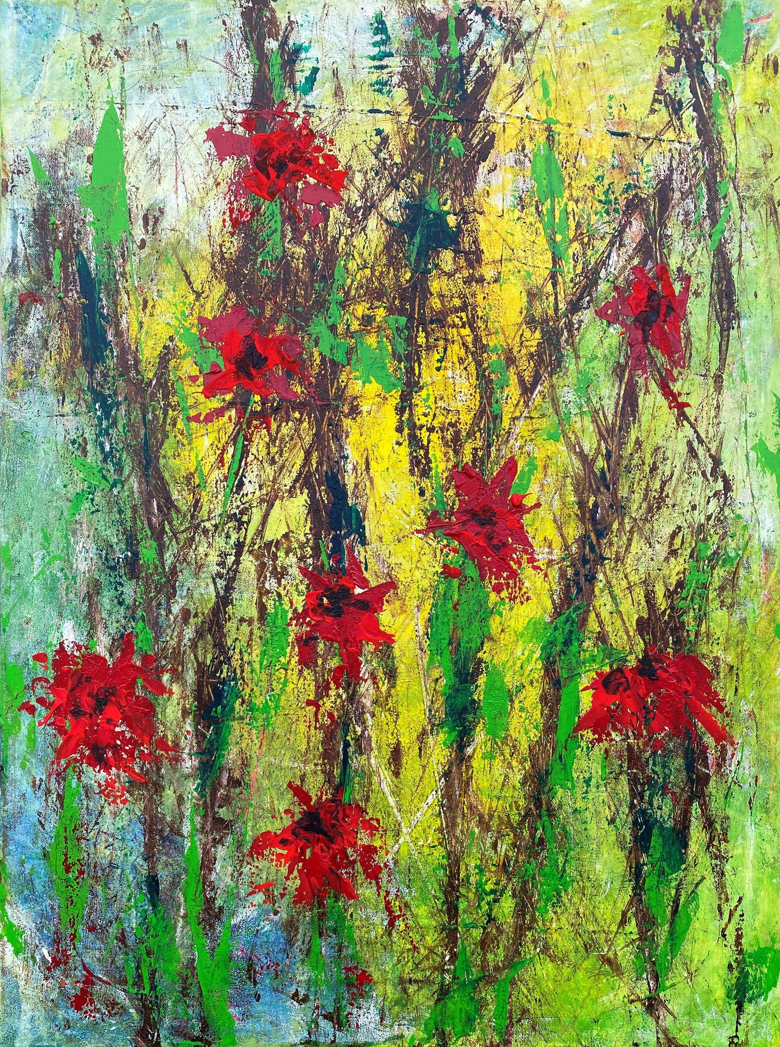 acryl auf leinwand 60x80 gemalt zu musik von thees uhlmann theesuhlmann abstract kunstproduktion billig bilder drucken