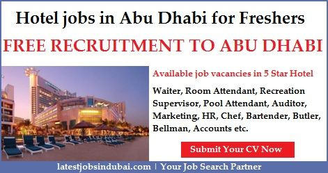 Hotel jobs in Abu Dhabi for Freshers  Available jobs in Starwood