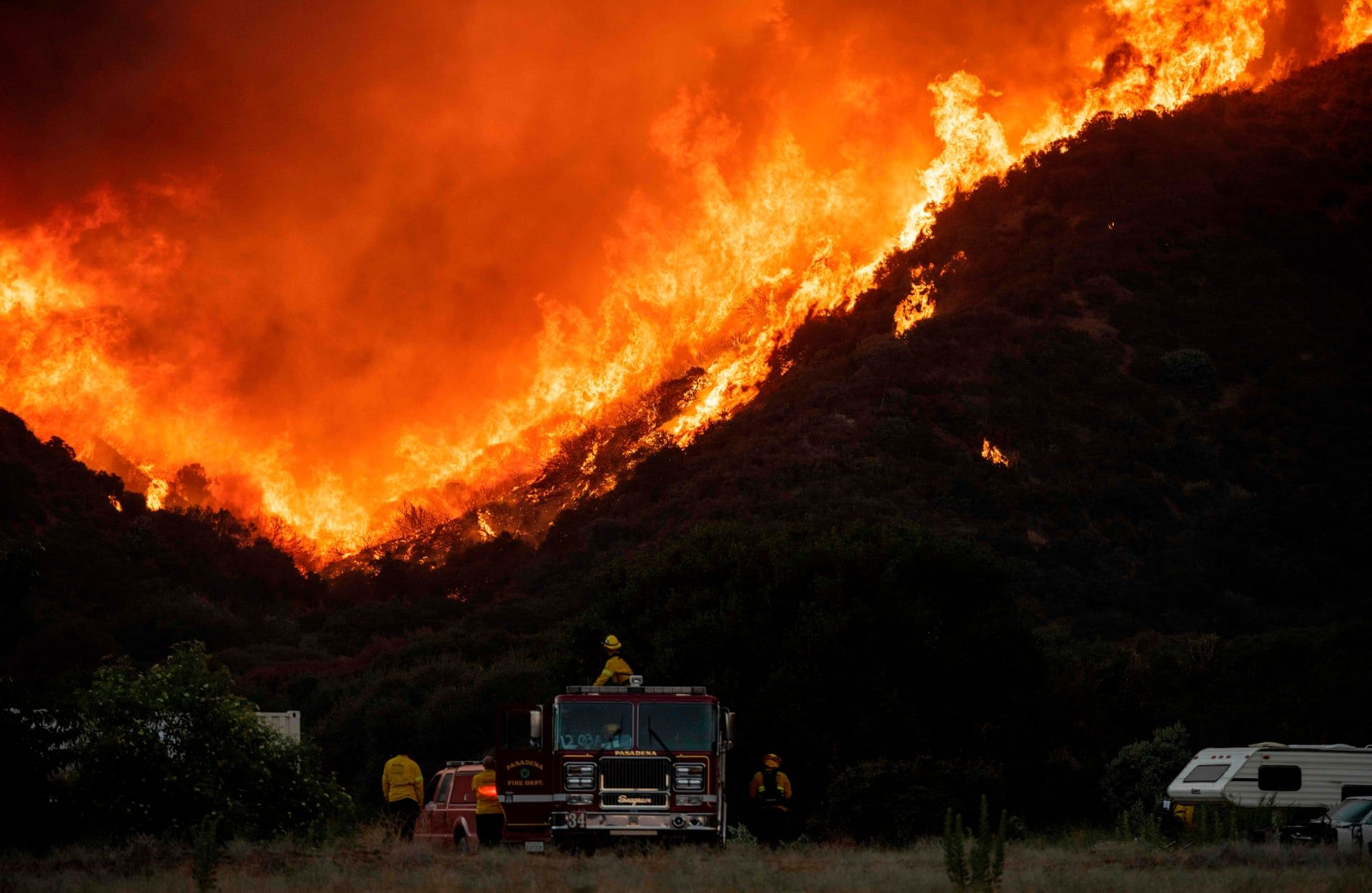 California S Apple Fire The Wildfire In Pictures In 2020 San Bernardino National Forest California Wildfires California