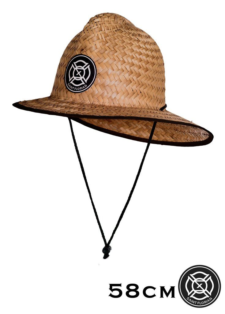 1d4c0d6e836cb Original Straw Firefighter Hat - Small Medium 58cm Our patented hand made  palm Straw Firefighter Hat features a flex fit design and also includes a  ...