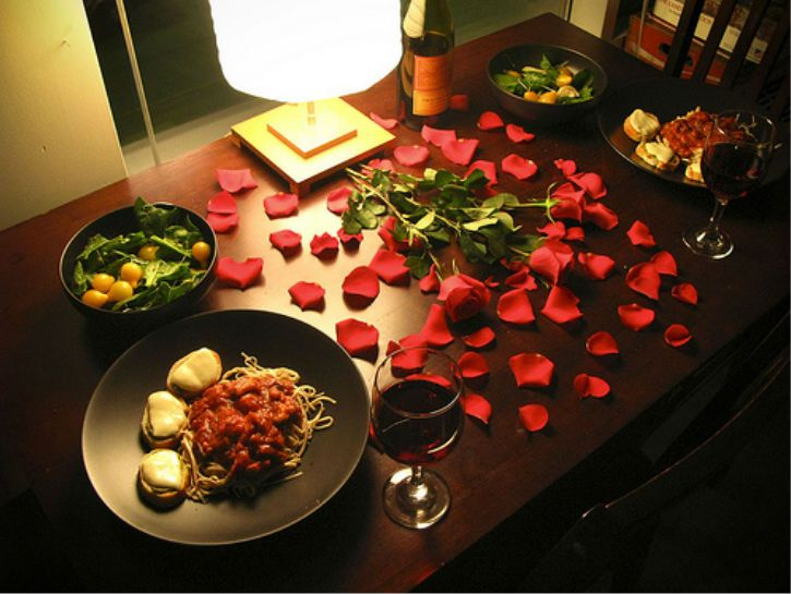 13 Recipes That Are Easy Enough For Him But Tasty Enough For Her Romantic Dinner Tables Romantic Dinner Setting Valentines Day Dinner
