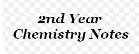 2nd Year Chemistry Notes : Short Questions Chapter 14 - Part