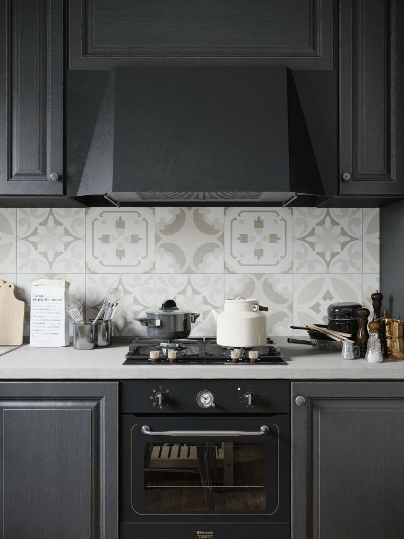 cuisine noire mat et cuisine noire et blanche 48 inspirations cuisine kitchens and black. Black Bedroom Furniture Sets. Home Design Ideas