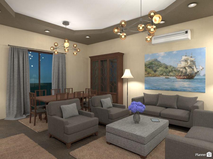 Living Room Interior Planner 5d Com Imagens