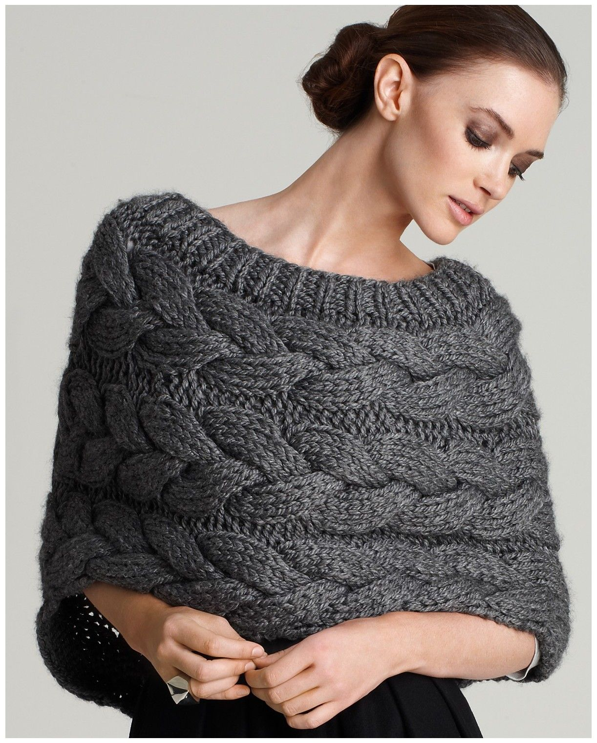 Knit shrug love this i know what i am going to ask dominc to knit shrug love this i know what i am going to ask dominc to capelet knitting patternknitted bankloansurffo Gallery