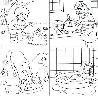 Cuentosdedoncoco Com La Utilidad Del Agua Para Colorear Pagine Di Esercizi Per Scuola Materna Pagine Di Esercizi Ciclo Dell Acqua
