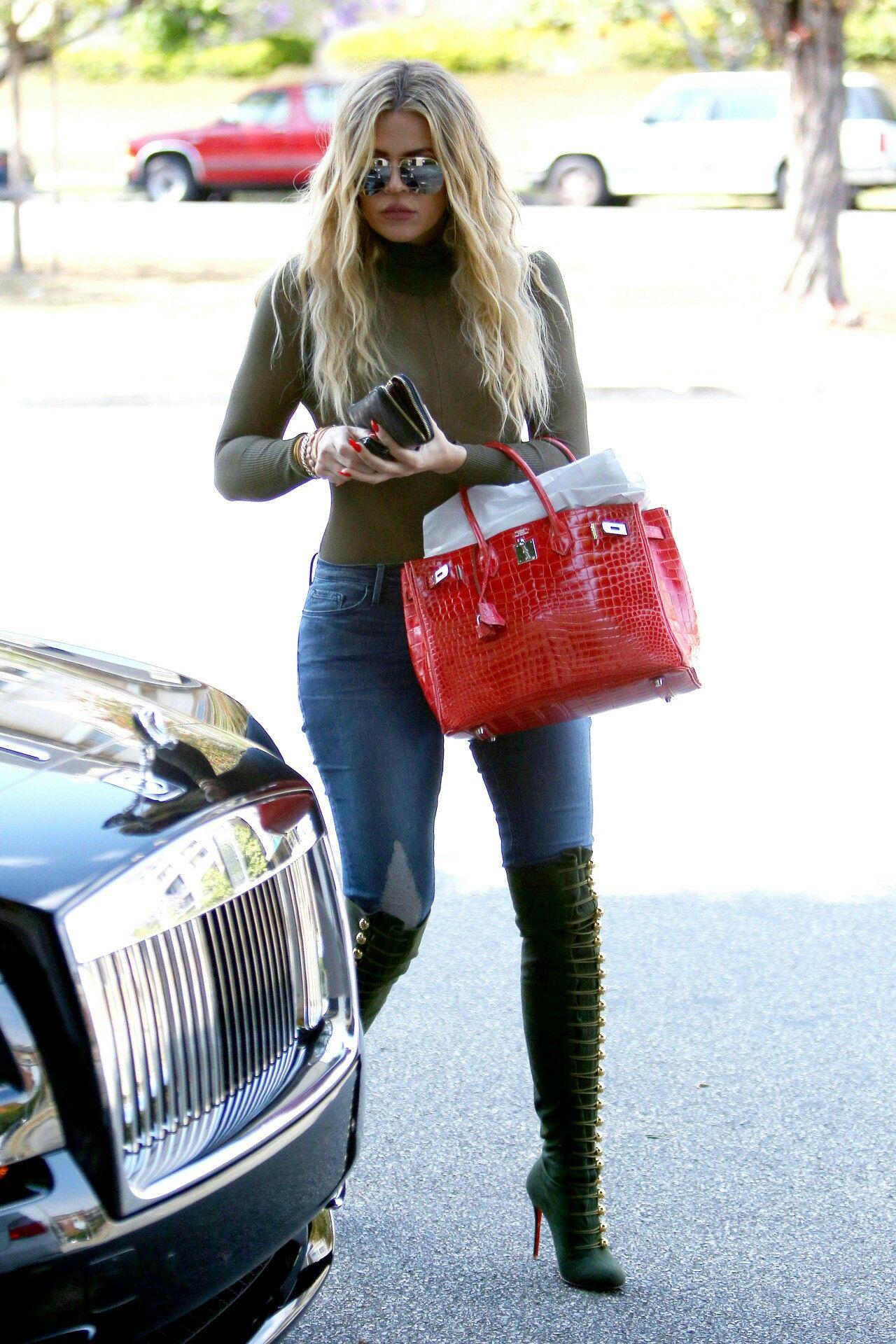 Khloe kardashian #casual #style | Kardashian & Jenner