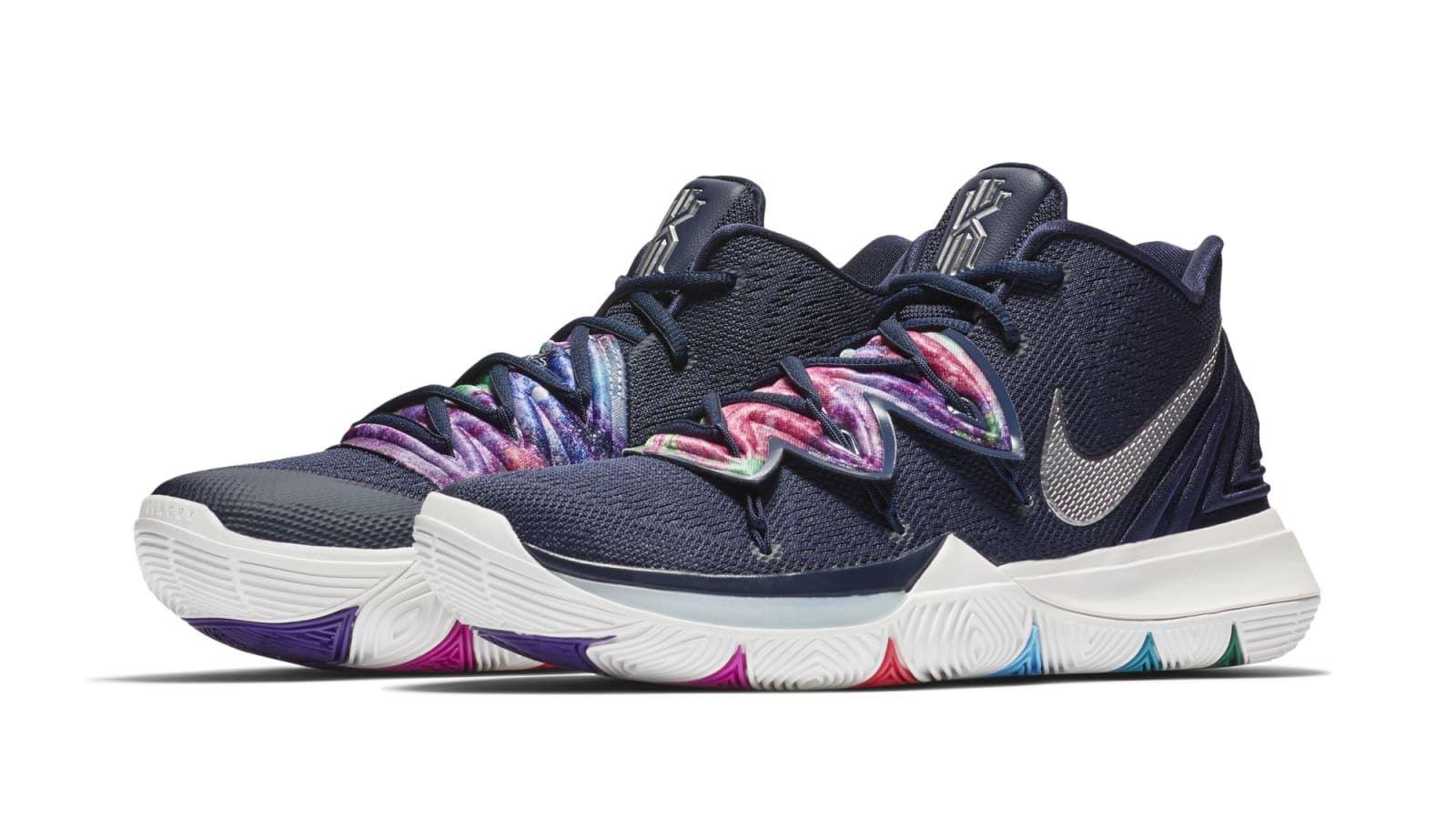 Nike Kyrie 5 'Multi-Color' | Sneakers men fashion, Sneakers ...