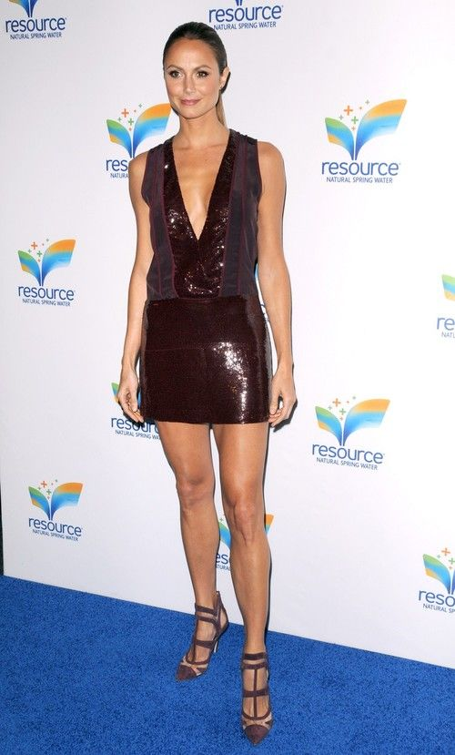 Stacy Keibler at Natural Spring Water Resource Launch Event in NYC on June 6, 2013