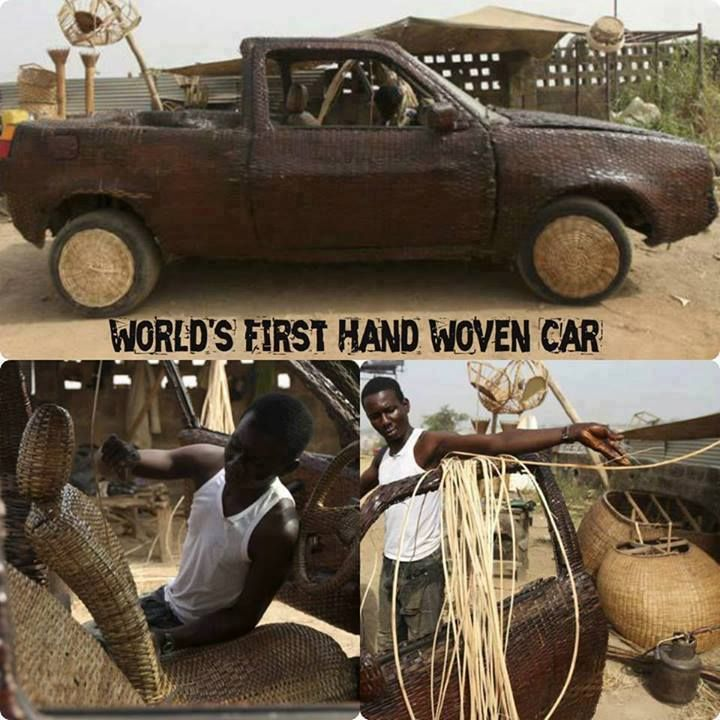 World\'s first hand woven car | Exploration and Advancement | Pinterest