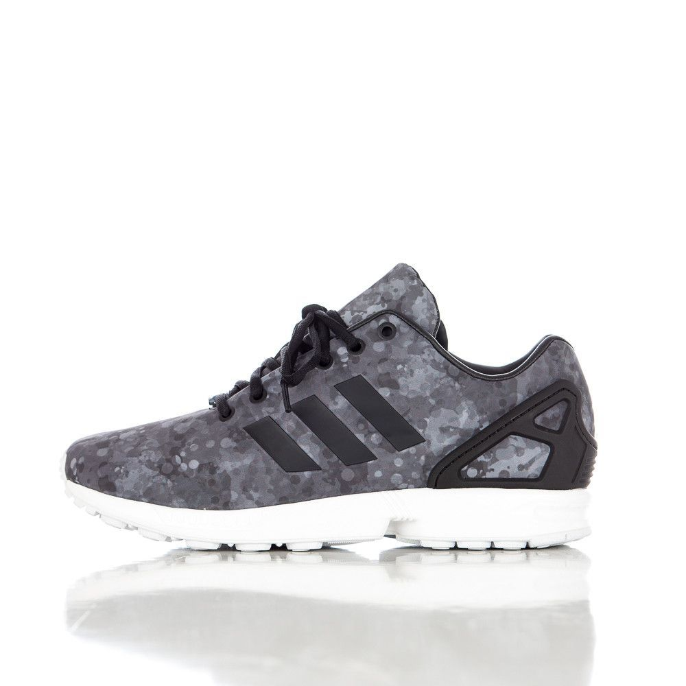 adidas x White Mountaineering ZX Flux in Core Black