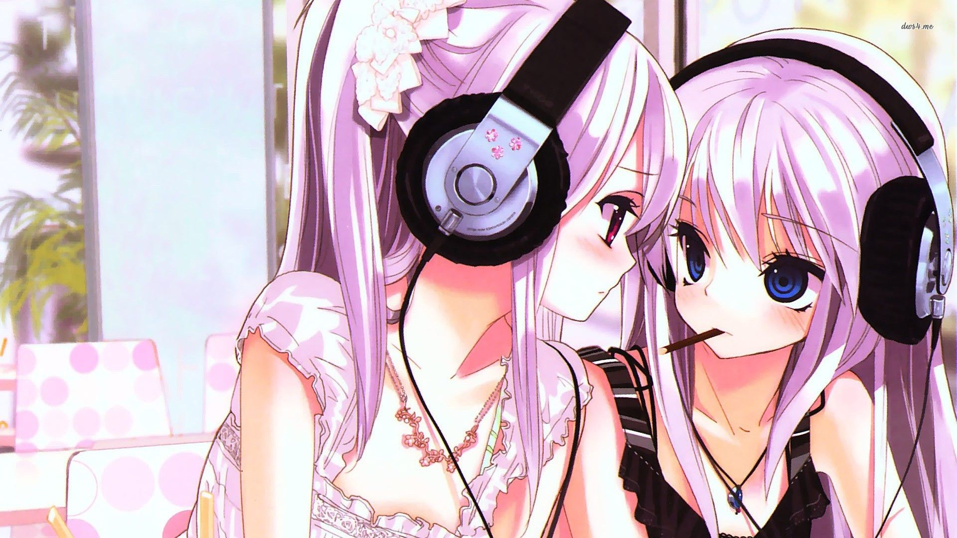 Pin By Selina Ta On Wallpapers Anime Wallpaper Download Anime Wallpaper Girl With Headphones