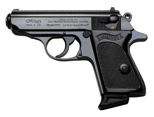 One of the most accurate and reliable small gun of all times: the Walther PPK Cal.380/ 9 short