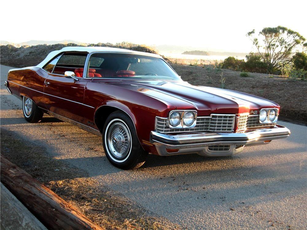 1973 PONTIAC GRANDVILLE CONVERTIBLE | Old school cars | Pinterest ...