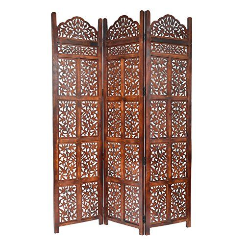 Home More 10322G04 Victoria 3 Panel Wood Screen kitchen