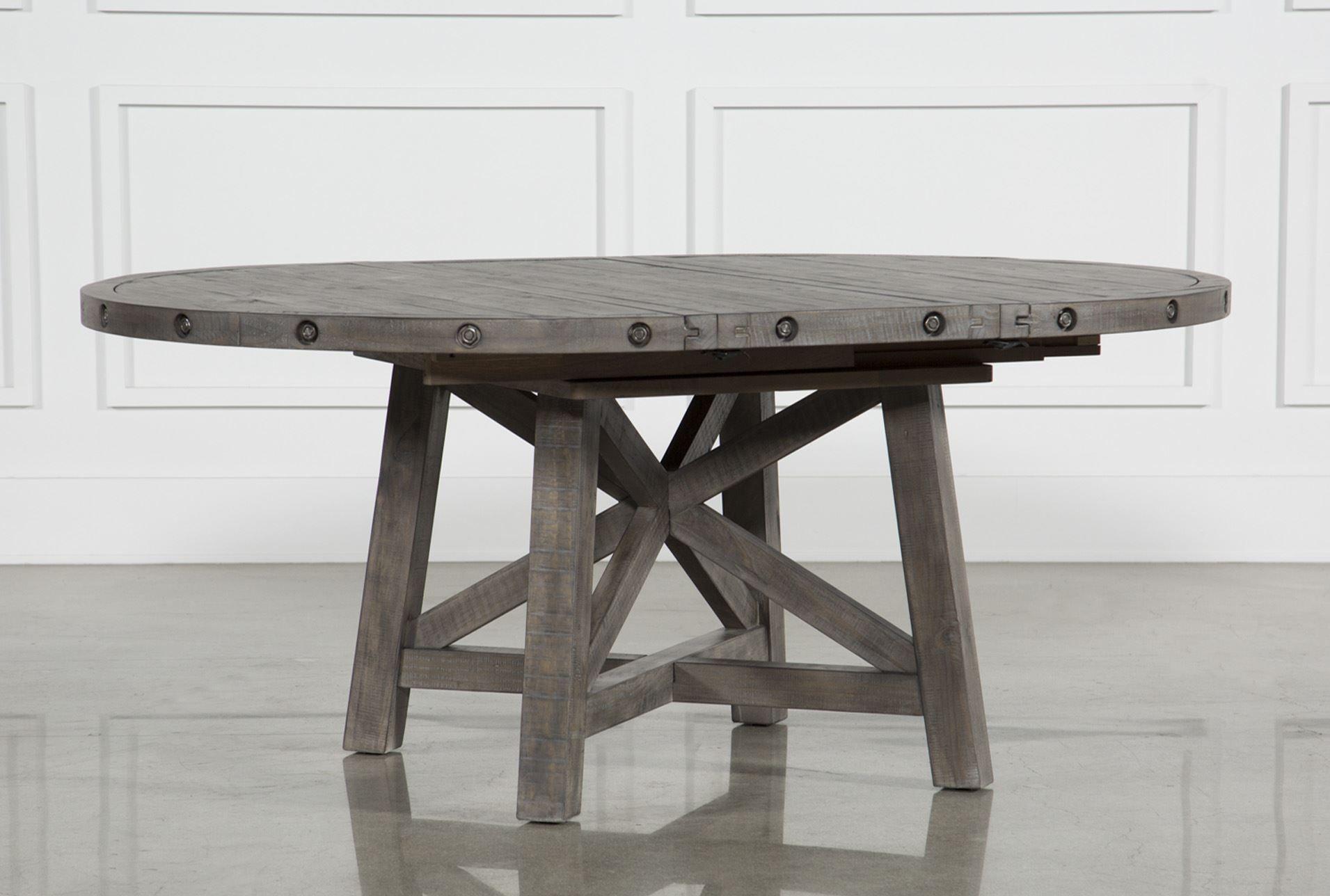 71d80beb02 Jaxon Grey Round Extension Dining Table | Christina's kitchen ...