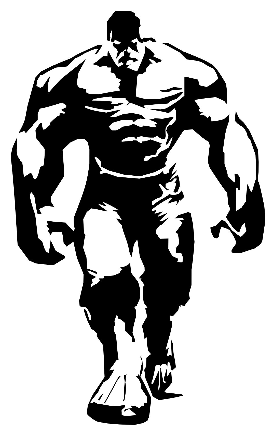 Download Or Print Your The-Hulk-Stencil - Stencil -5939