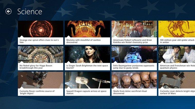 Fox News App // With the Fox News app for Windows 8 read