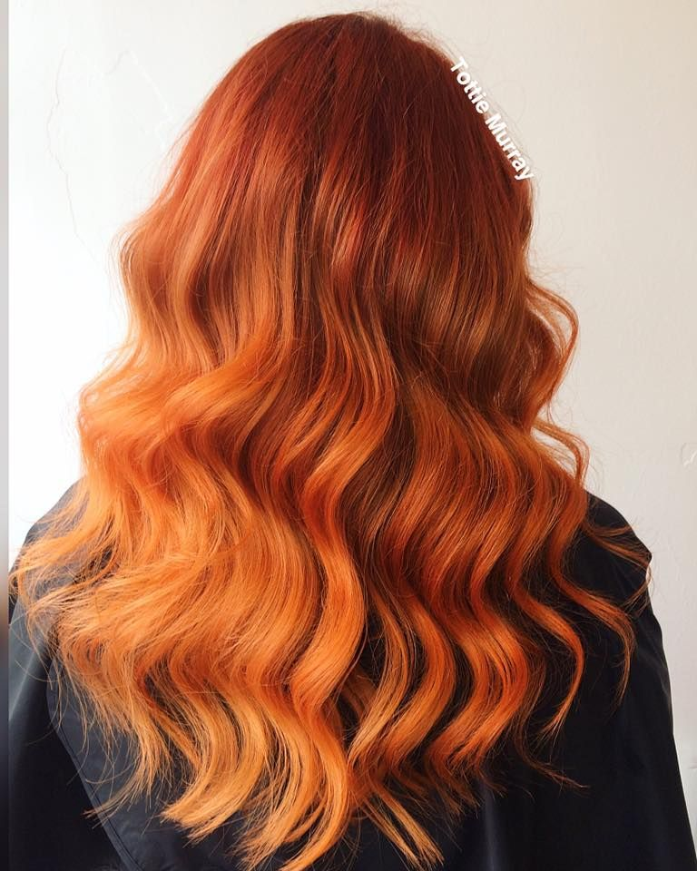 Kissed By Fire Ginger Hair Colour And Cut Refresh By Tottie Murray
