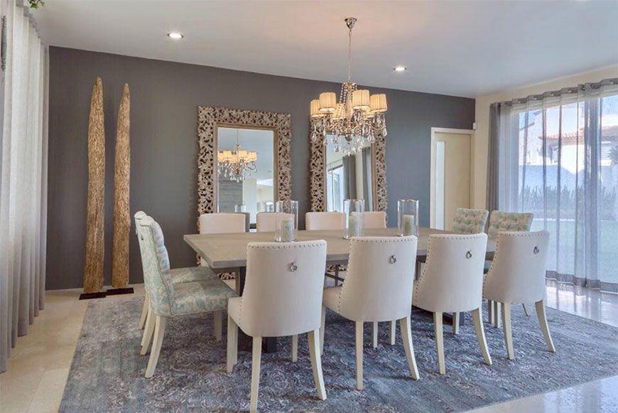 Comedor elegante casa nueva en 2019 dining decor for Mesa de comedor elegante lamentable