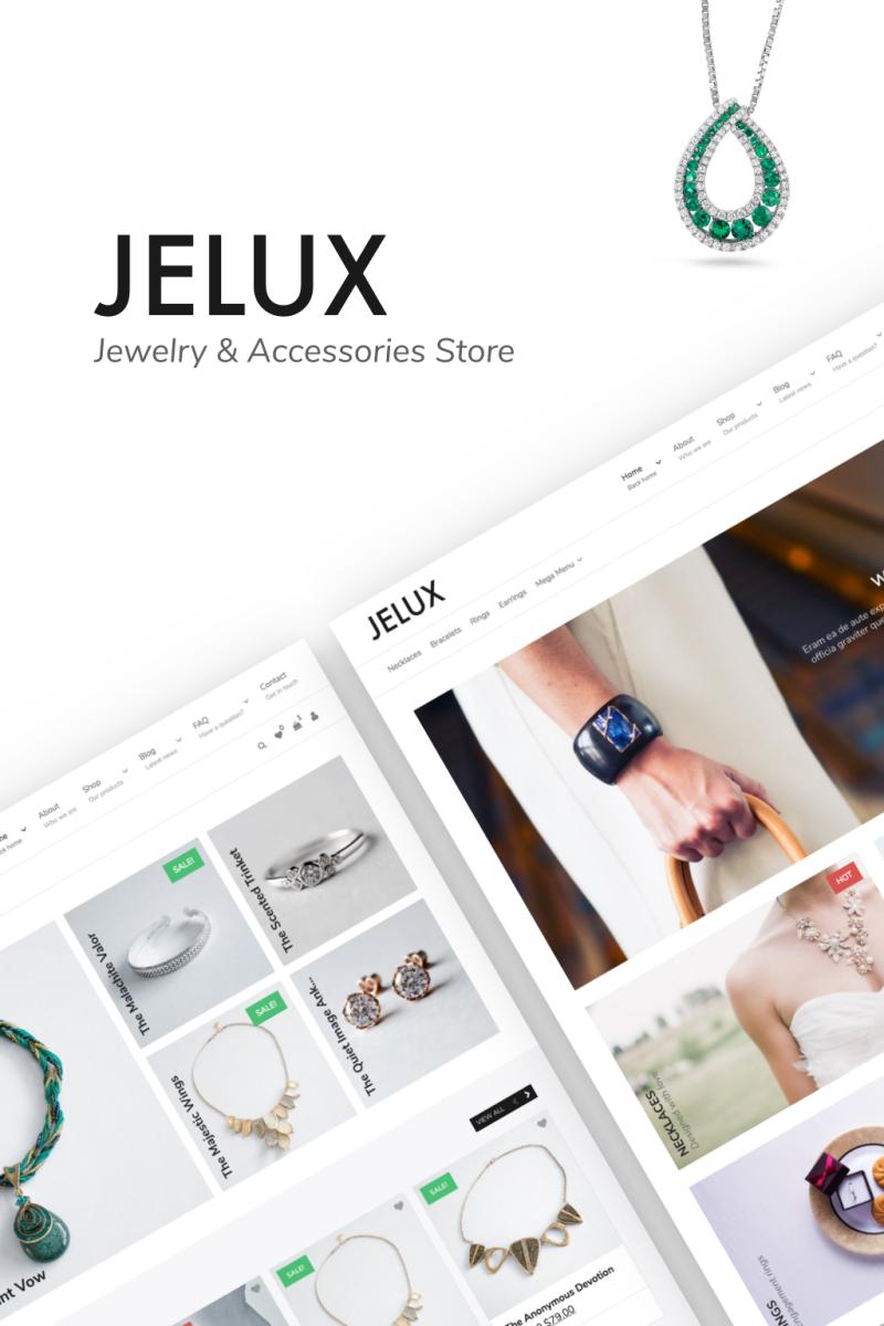 Jelux - Jewelry & Accessories Store WooCommerce Theme Big Screenshot