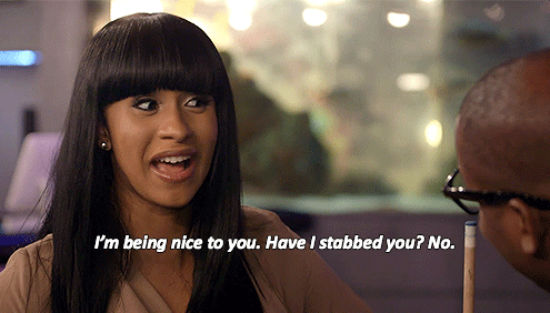 16 Reasons Cardi B Is A Gift From The Reality Tv Gods Cardi B Quotes Cardi B Cardi B Memes