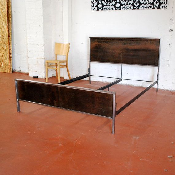 Artículos similares a Panel de acero cama - versión de la plataforma ...