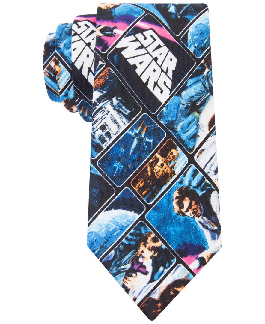 Star Wars Boys' Vintage Poster Tie