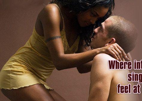 Women sex men captions white black