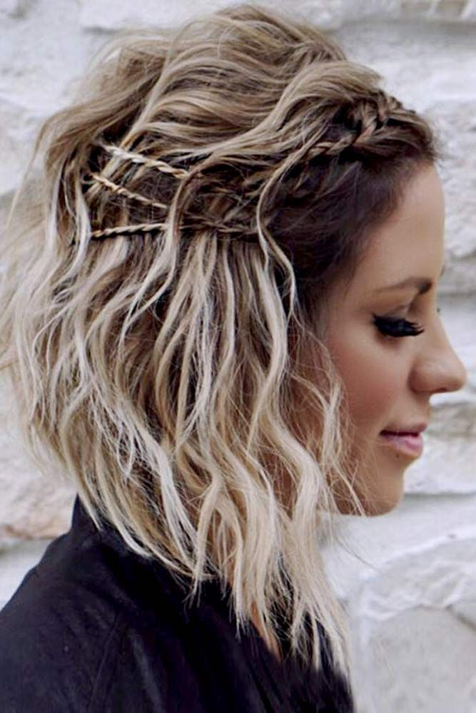 36 Cute Hairstyles for Medium Hair Casual and Prom Looks ...