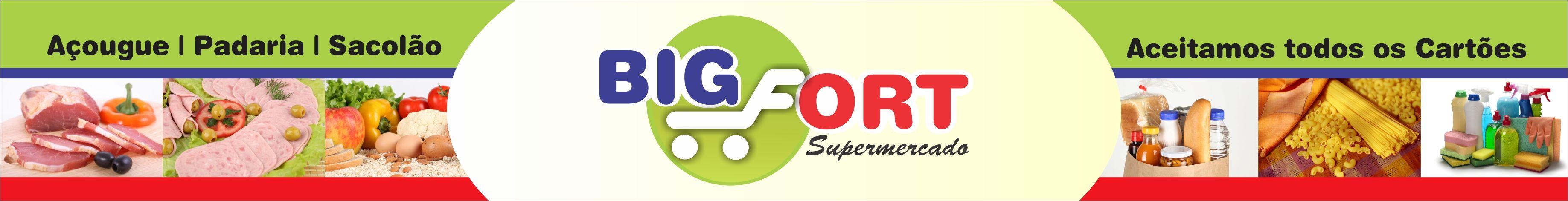 Trabalho feito para Para a inauguração do Supermercado Big Fort - Morro da Garça/MG