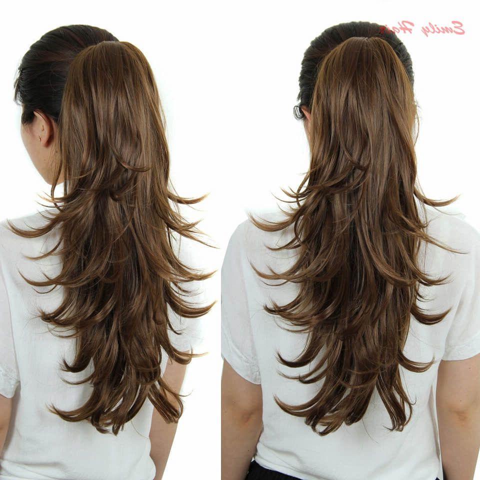 Formas de moda también peinados con extensiones Colección de tendencias de color de pelo - Peinados con extensiones tan fáciles de hacer como ...