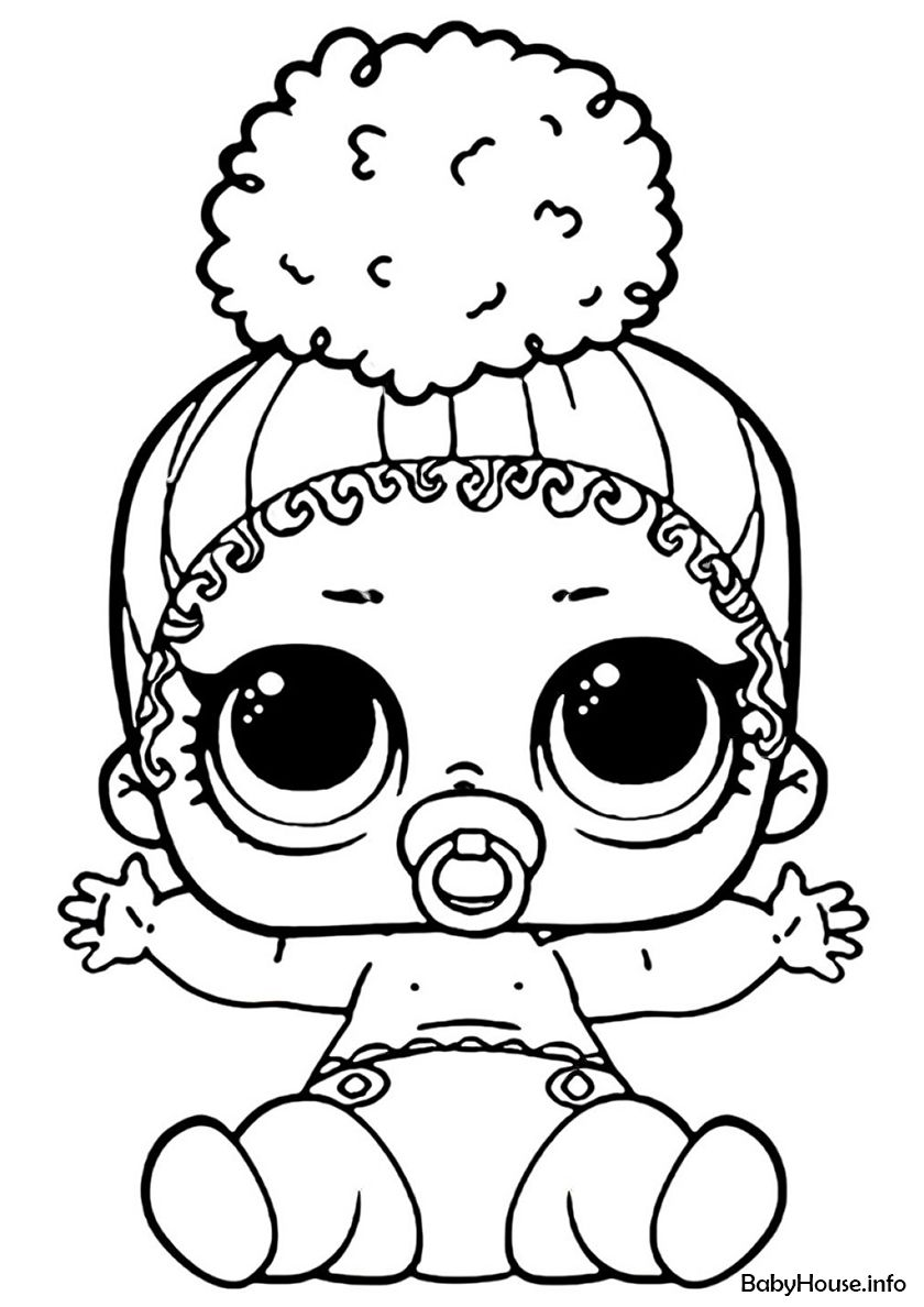 Lil Touchdown High Quality Free Coloring From The Category L O L Lil Sisters More Printable Cute Coloring Pages Cartoon Coloring Pages Cool Coloring Pages