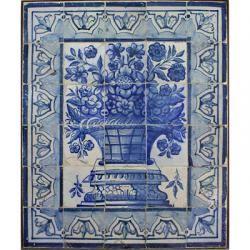 Antique Portuguese Tile Amigo