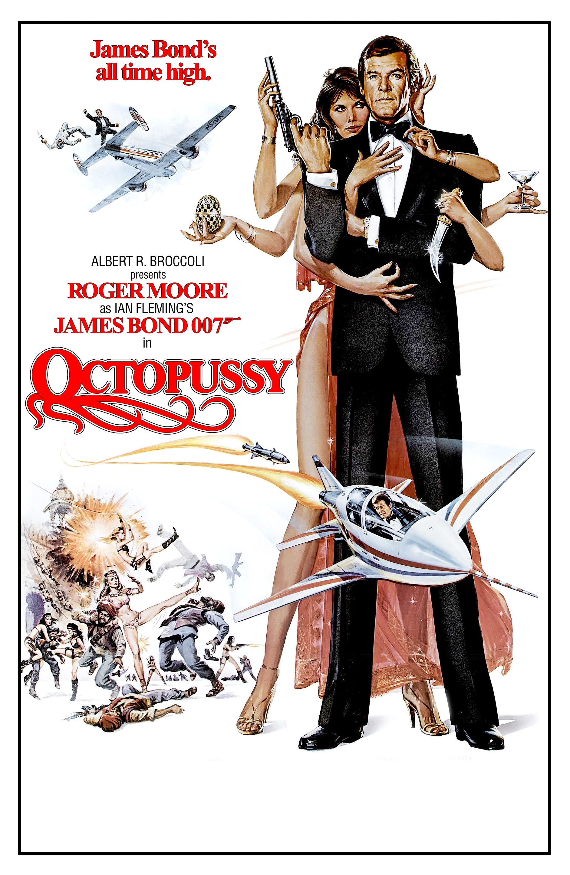 Image result for octopussy poster