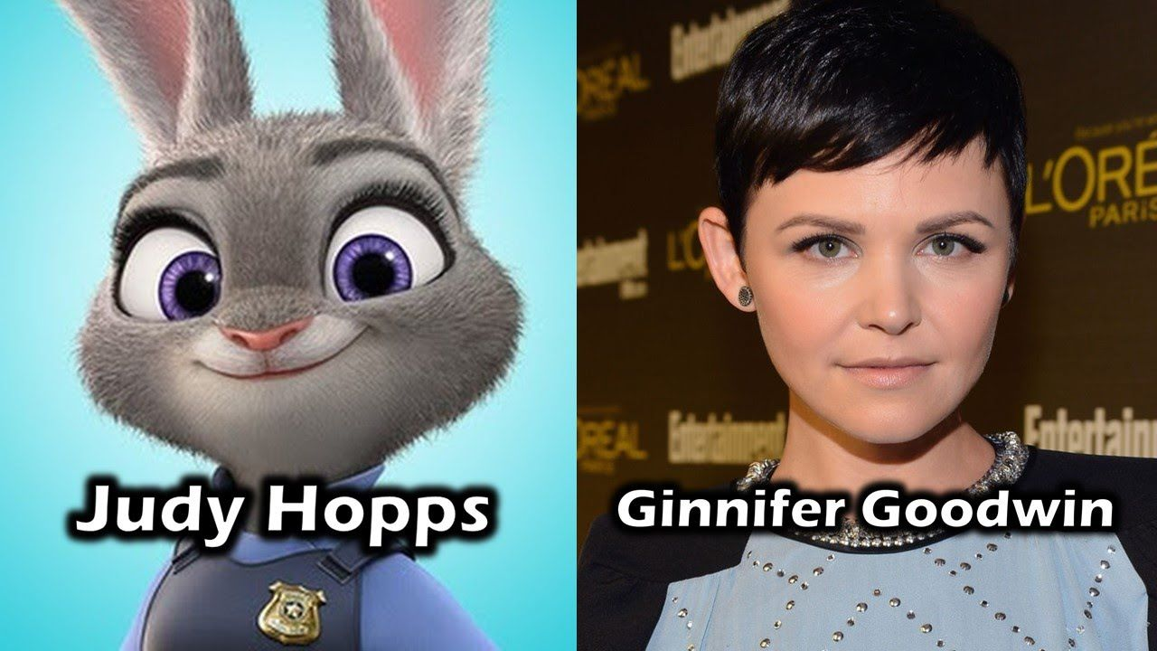 Characters And Voice Actors Zootopia Voice Actor Zootopia The Voice