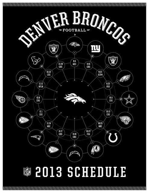 Denver broncos 2013 schedule denver broncos fans and peyton manning denver broncos 2013 schedule voltagebd Image collections