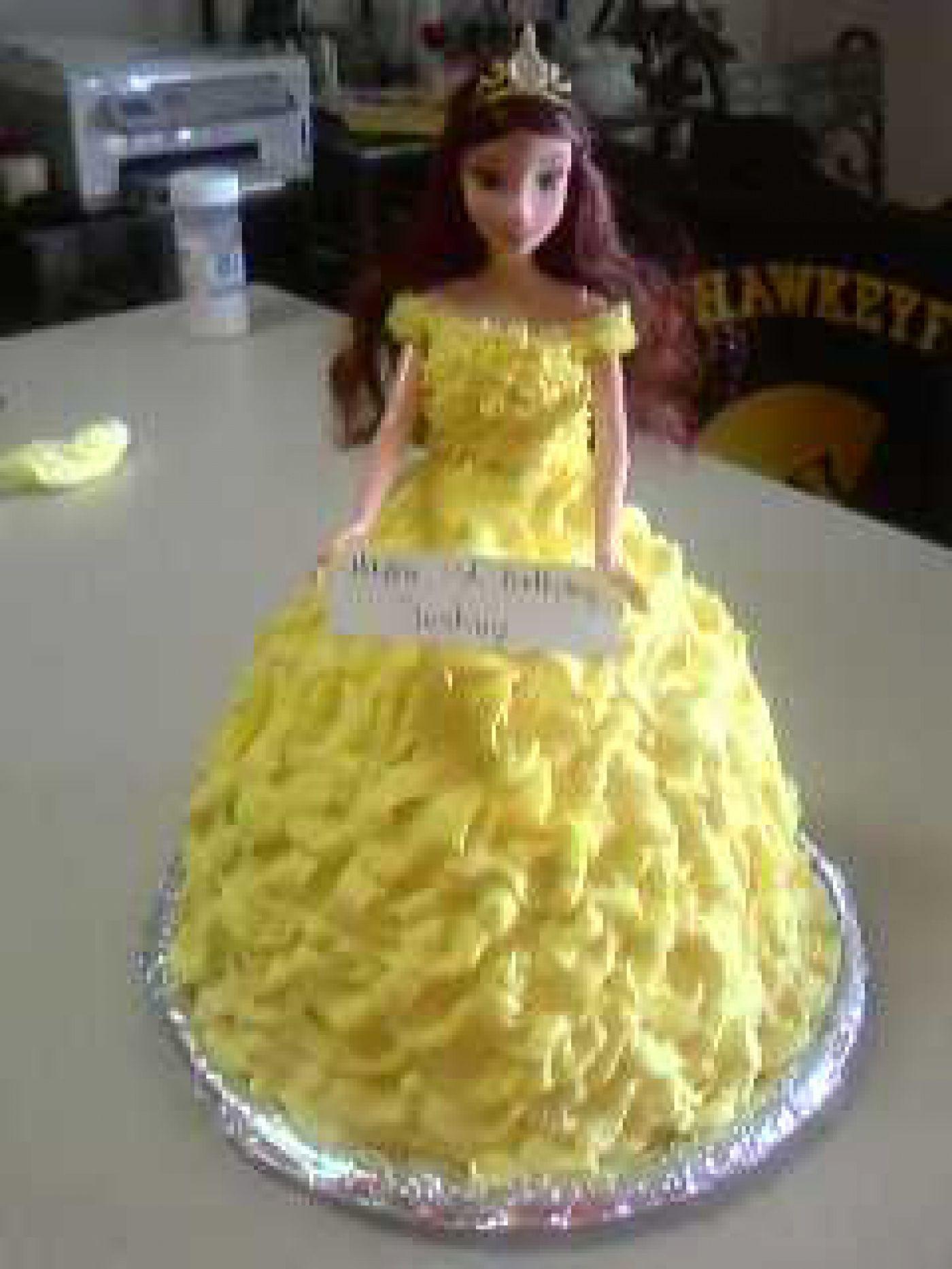 Belle Birthday cake Cakes Pinterest Birthday cakes and Cake
