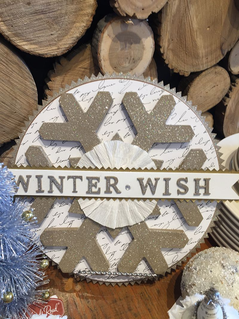 What's your #Winter wish? Find this beautiful decoration at Georgian #Christmas & fill your home with the beauty of Winter! | www.georgianchristmas.ca
