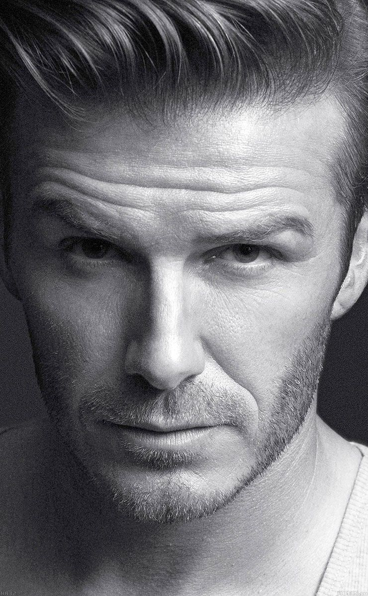Black face app -  Tap And Get The Free App Sport David Beckham Black White Cool