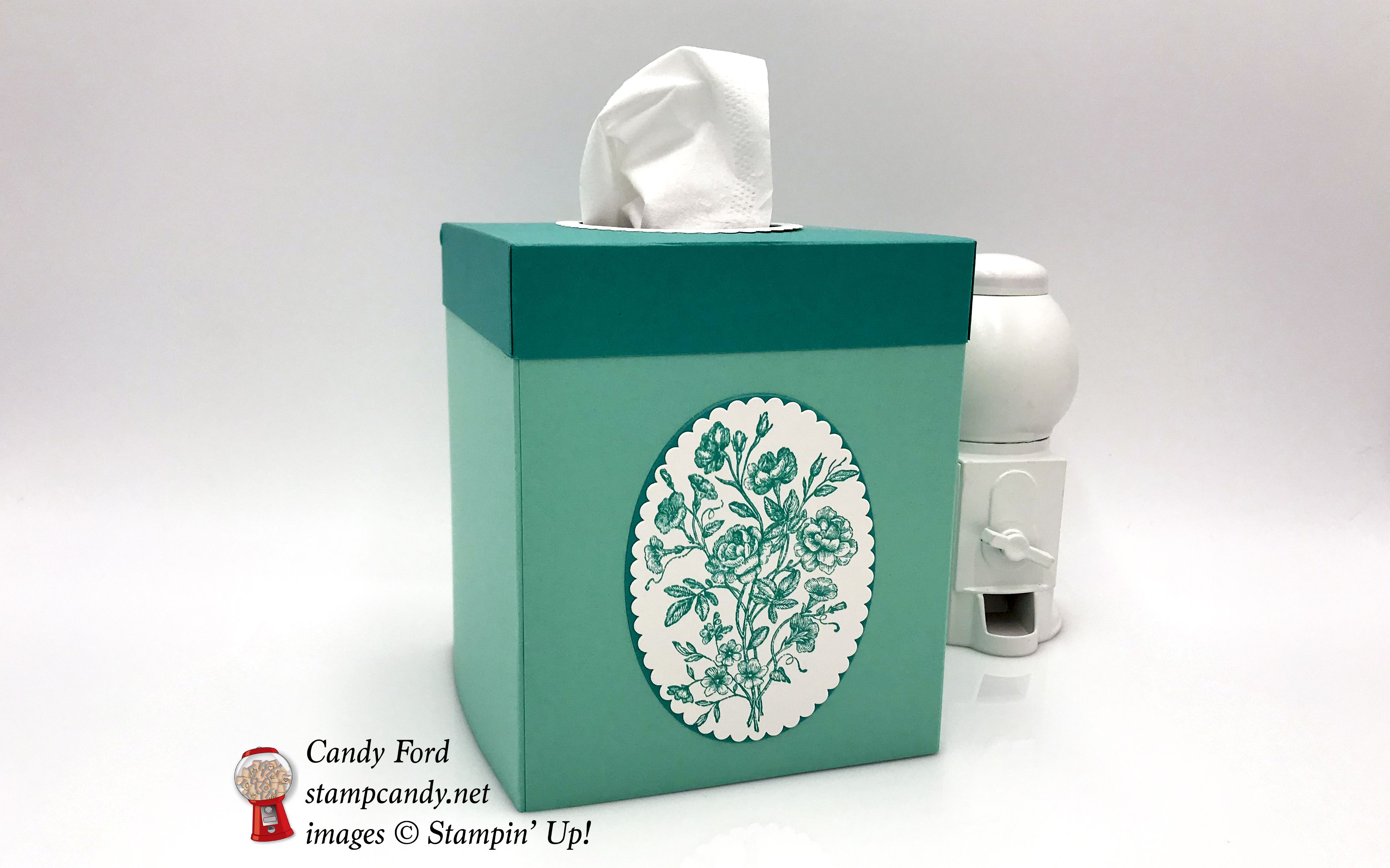 Very Vintage Tissue Box Cover