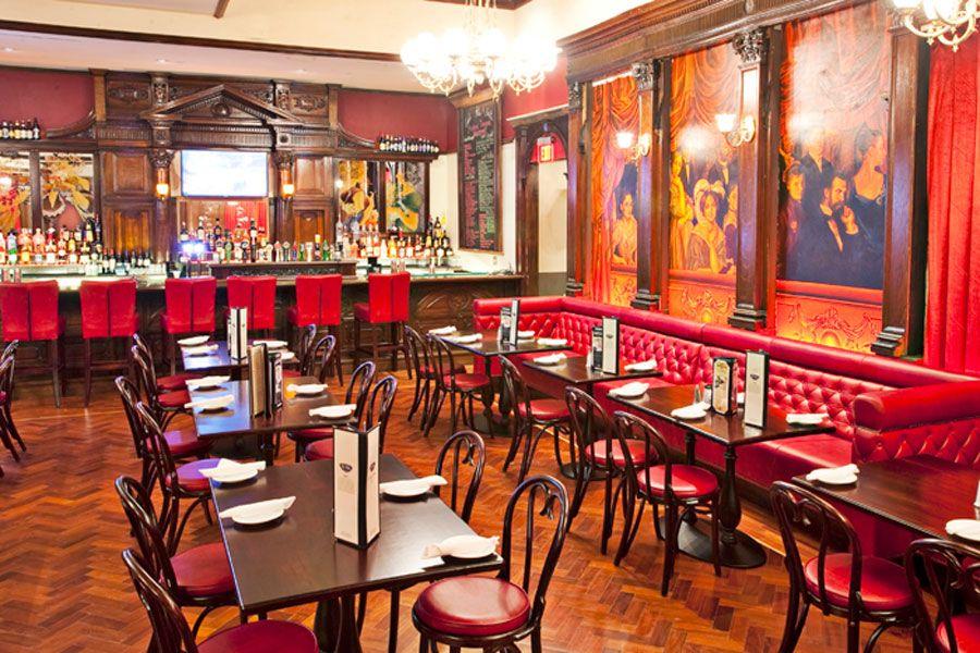 Classic Restaurant Interior Design Of Ri Ra Irish Pub, Las Vegas Dining Area
