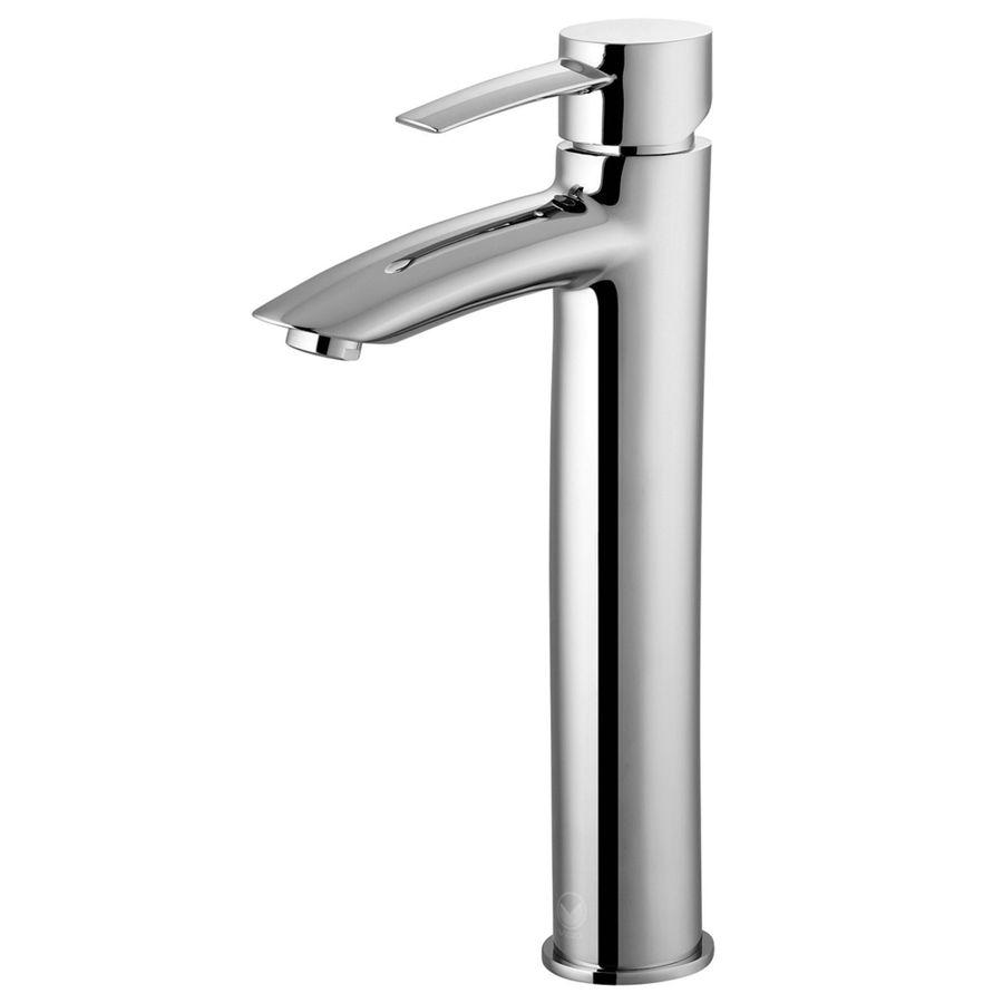 Vigo Bathroom Faucets vigo shadow chrome 1-handle vessel watersense bathroom faucet