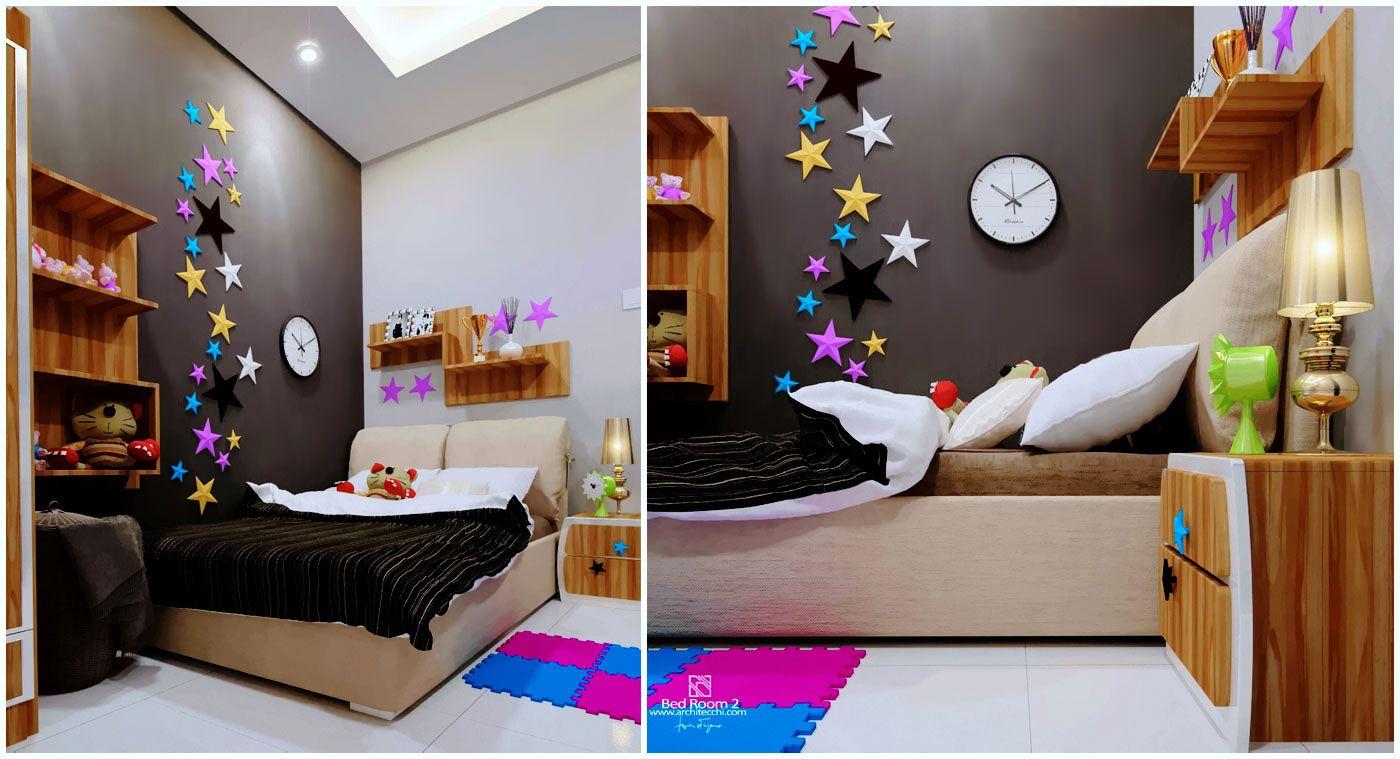 Interior Design Bed Room Pandu House Desain Desain Interior Interior